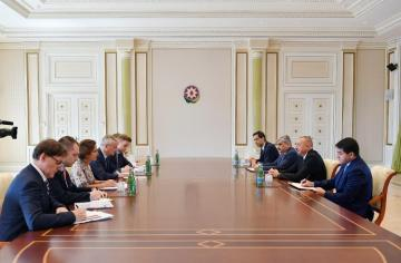 Azerbaijani President receives Minister of the Economy and Finance of France