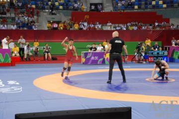 Azərbaycan güləşçisi dünya çempionatında bürünc medal qazanıb