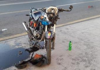 Bakıda motosiklet qəzası nəticəsində qız və oğlan ağır xəsarət alıb