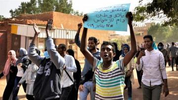 Military police open fire on protesters in Sudan's capital