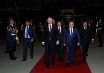 Завершился официальный визит Президента Республики Польша Анджея Дуды в Азербайджан