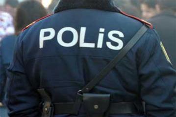 Bərdədə polis əməkdaşı güllə yarası alıb