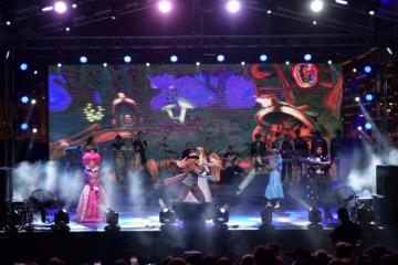 В парке Центра Гейдара Алиева прошло шоу Айгюн Кязымовой в честь Международного дня защиты детей