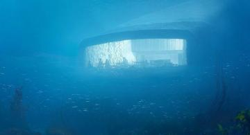 Europe's first underwater restaurant Swings Doors open in Norway  - [color=red]PHOTO[/color]