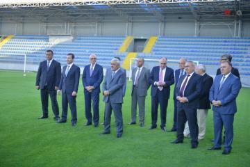 """Rövnəq Abdullayev: """"Gələn il keçiriləcək futbol bayramında biz də iştirak etmək istəyirik"""""""