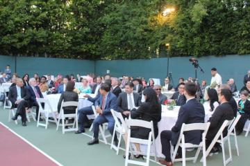 Los Ancelesdə müxtəlif dini icmaların iştirakı ilə iftar mərasimi keçirilib