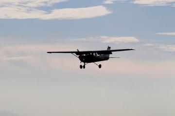 На западе Канады разбился небольшой самолет