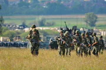 Учения НАТО Saber Guardian 2019 начались в Румынии