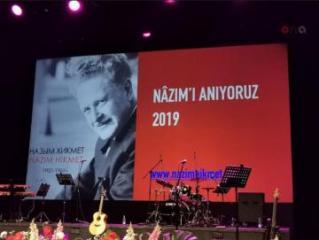 Moskvada böyük türk şairi Nazim Hikmətin xatirəsi anılıb - [color=red]FOTO[/color]