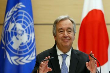 Генсек ООН поздравил президента Ильхама Алиева