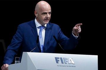 Canni İnfantino yenidən FİFA prezidenti seçilib