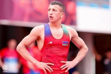 Azerbaijani wrestler wins silver medal in European championship
