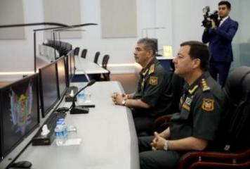 Ministry of Defense of Azerbaijan holds opening of new administrative building of Command Control Center