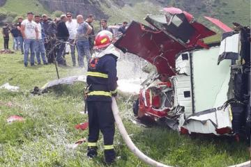 Helicopter Crashes in Kazbegi, 3 Dead