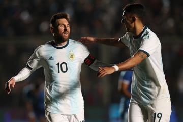 Месси помог Аргентине разгромить Никарагуа