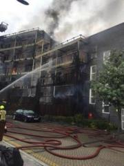 No injuries reported at residential fire in London