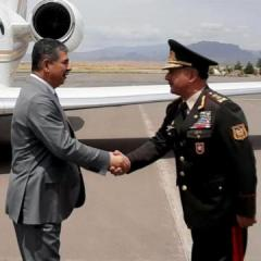 Azerbaijan Defense Minister arrived in Nakhchivan
