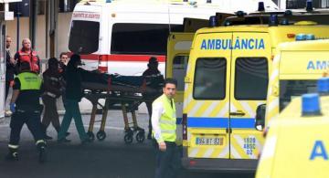 Light plane crash kills 2, triggers forest fire in western Portugal