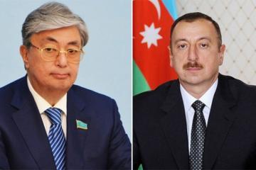 Prezident İlham Əliyev və Qasım-Jomart Tokayev arasında telefon danışığı olub