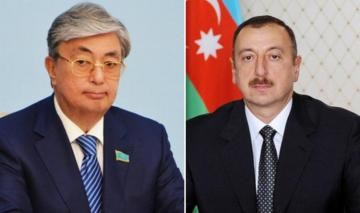 President Ilham Aliyev and Gasim-Jomart Tokayev held a telephone conversation