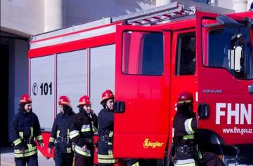 Fire breaks out in Baku, claims child's life