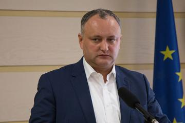 Igor Dodon annuls decree on dissolving parliament - [color=red]VIDEO[/color]