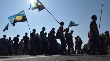 В Киеве проходит митинг возле здания Конституционного суда