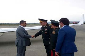 Министры обороны Азербайджана и Турции прибыли в Габалу
