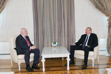 Azerbaijani President received OSCE PA president
