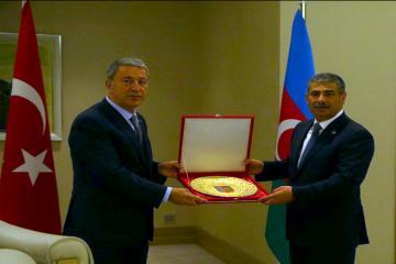 В Габале состоялась встреча министров обороны Азербайджана и Турции