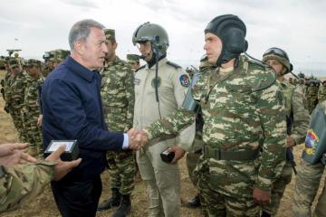 В Нахчыване прошли совместные азербайджано-турецкие военные учения - [color=red]FOTO[/color]