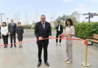 Президент Ильхам Алиев принял участие в открытии заповедника «Янардаг» - [color=red]ОБНОВЛЕНО[/color]