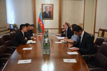 Azerbaijani FM receives Chinese Ambassador to Baku