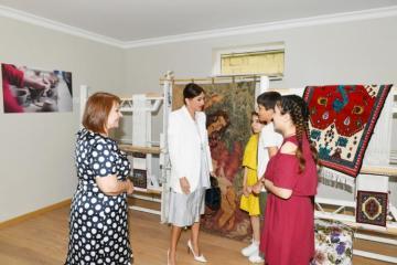 Birinci vitse-prezident Mehriban Əliyeva uşaq sığınacağının yeni binasının açılışında iştirak edib