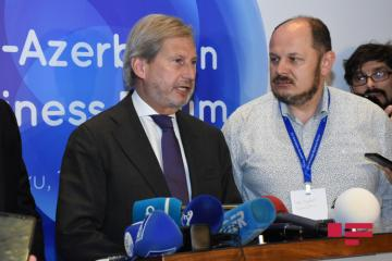 "Johannes Hahn: ""Azerbaijan is a key transport corridor that connects Europe with Eurasia"""