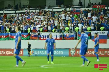 Сборная Азербайджана опустилась на 2 строчки в рейтинге ФИФА