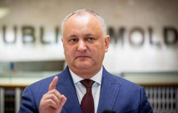 Moldovan president congratulates nation on victory 'over usurpers of power'