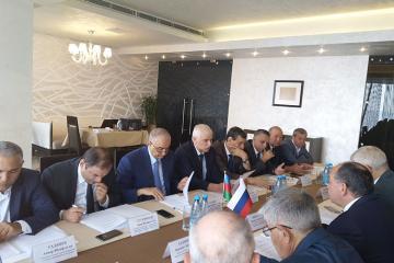 Samur çayının bölünməsi üzrə Azərbaycan-Rusiya birgə komissiyası toplanıb