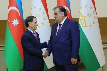 Новруз Мамедов встретился с президентом Таджикистана