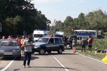 В России восемь человек погибли в ДТП