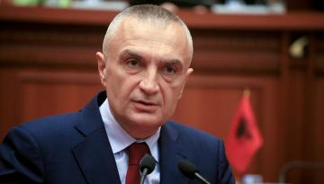 В Албании начался процесс отстранения президента от должности