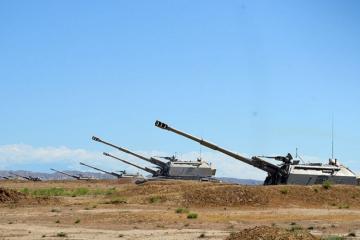 Azərbaycan Ordusunun hərbi şəhərciklərinin 85 faizi yenilənib