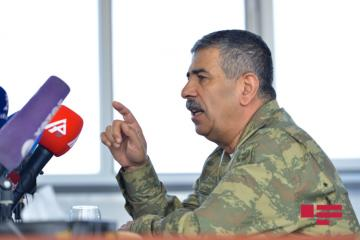 """Zakir Həsənov: """"Mənim əsas vəzifəm ordunu müharibəyə hazırlaşdırmaqdır"""""""