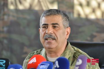 "Zakir Hasanov: ""The martyred Major fulfilled my order by carrying out combating preparations"""