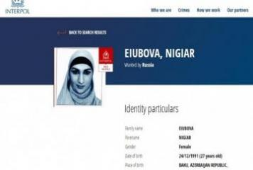 Russia puts Azerbaijani woman on Interpol wanted list on charges of joining armed groups