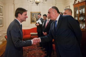 Мамедъяров встретился с помощником и заместителем Помпео