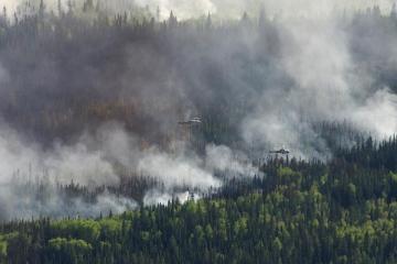 Kanadada meşə yanğınları 9 mindən çox insanı evsiz qoyub