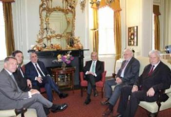 "US Embassy: ""USA, co-chairs are pleased to hold meeting of FMs in Washington"""