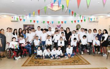 First Vice-President of Azerbaijan visited social service center for children with physical disabilities