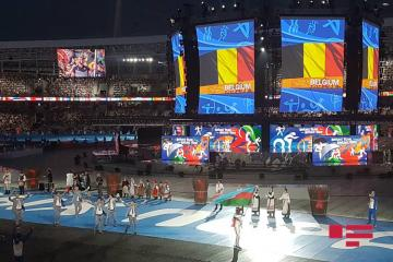 Сборная  прошла на параде атлетов II Евроигр - [color=red]ФОТО[/color]